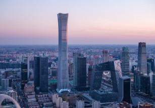 В столице Китая возвели небоскреб-вазу