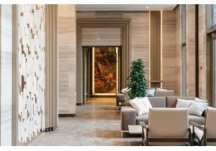 «Оливковый дом» компании Донстрой украсили «хрустальная стена» и картины импрессионистов Москва, Россия. 12 ноября 2019 года