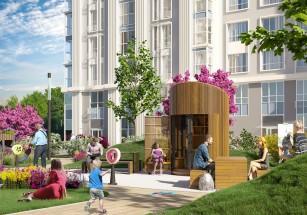 На территории жилого комплекса FRESH будет создано пространство Fresh&fun