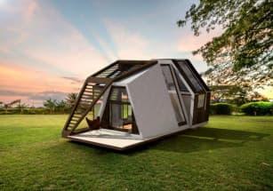 Новая версия мобильного дома создана словацкими дизайнерами