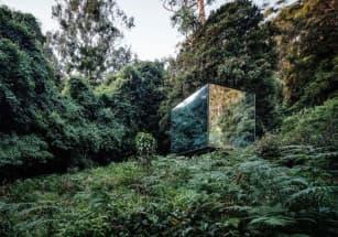 В Австралии появился дом в виде стеклянного куба