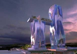 В Афинах началось строительство высотного мегапроекта