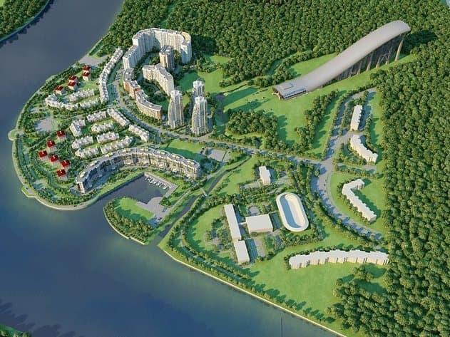 ЖК «Красногорье DeLuxe Ski-club and water-house» («Мыс Первый»), г. Красногорск