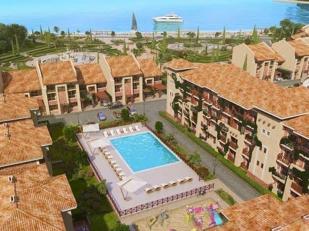Апарт-комплекс «Палермо. Итальянская деревня», пгт Черноморское