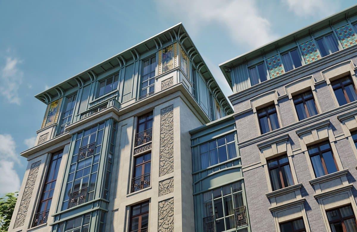 ЖК «Дом Бакст», м. Пушкинская - цены на квартиры, фото, планировки ...