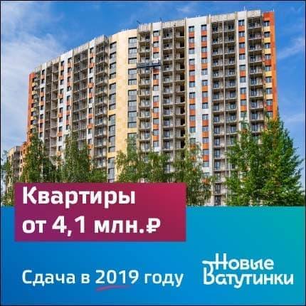 Район «Новые Ватутинки»
